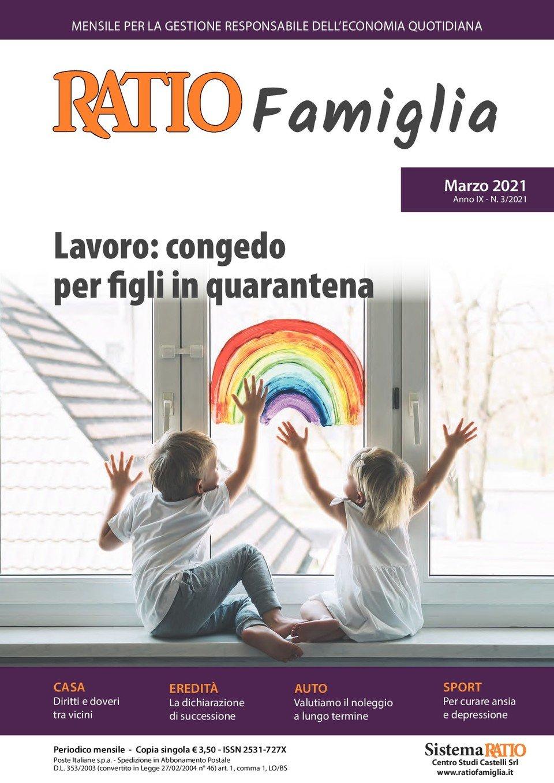 RATIO Famiglia 3/2021